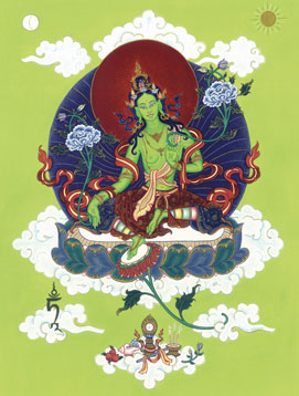 Green Tara, the Mother of All Buddhas © Carmen Mensink